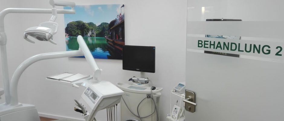 Dr Dengler Behandlungszimmer